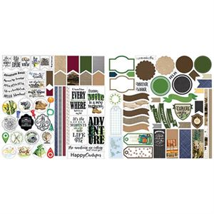 Picture of The Great Outdoors Stackable Stickers by Lauren Hinds